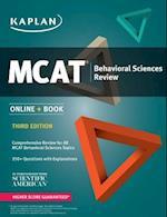 Kaplan MCAT Behavioral Sciences Review (Kaplan Test Prep)