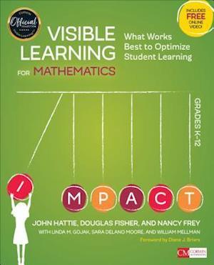 Bog, paperback Visible Learning for Mathematics, Grades K-12 af John A. Hattie
