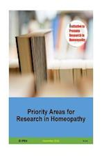 Priority Areas for Research in Homeopathy V 1.3