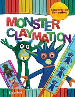 Bog, paperback Monster Claymation af Emily Reid