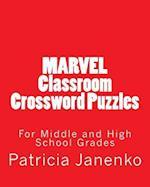 Marvel Classroom Crossword Puzzles