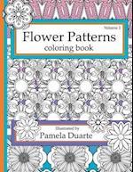 Flower Patterns Coloring Book, Volume1 af Pamela Duarte