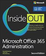 Microsoft Office 365 Administration Inside Out (Includes Current Book Service) (Inside Out)