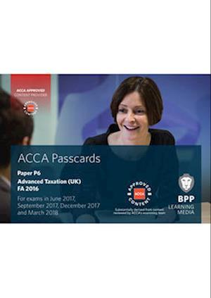 Bog, spiralryg ACCA P6 Advanced Taxation FA2016 af Bpp Learning Media