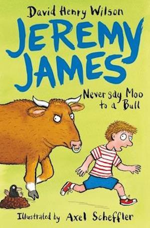 Bog, paperback Never Say Moo to a Bull af David Henry Wilson