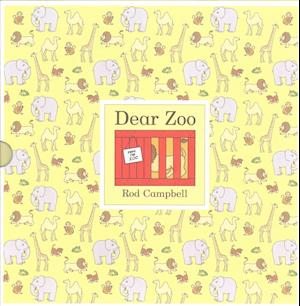 Bog, hardback Dear Zoo af Rod Campbell