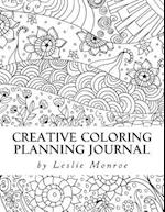 Creative Coloring Planning Journal