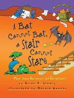 A Bat Cannot Bat, a Stair Cannot Stare (Words Are Categorical Paperback)