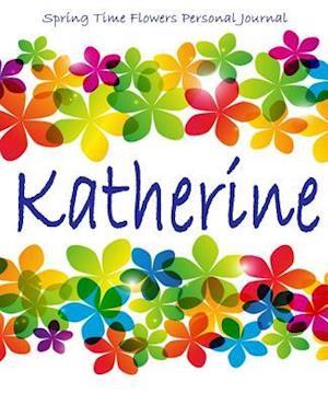 Bog, paperback Spring Time Flowers Personal Journal - Katherine af Kooky Journal Lovers