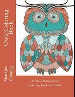 Owls Coloring Book af Adult Coloring Books