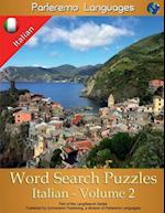 Parleremo Languages Word Search Puzzles Italian - Volume 2 af Erik Zidowecki
