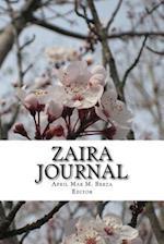 Zaira Journal 1 af April Mae M. Berza