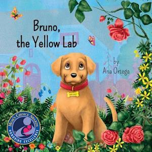 Bruno, the Yellow Lab af Ana Ortega