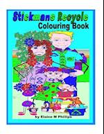 Stickmans Recycle Colouring Book af Elaine M. Phillips