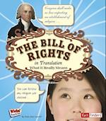The Bill of Rights in Translation (Kids' Translations)