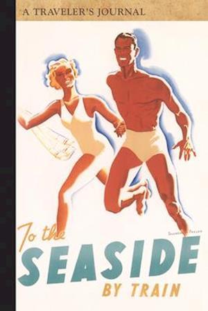 Bog, paperback To the Seaside by Train af Applewood Books