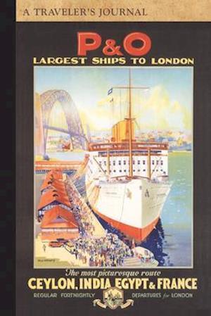 Bog, paperback P&o Largest Ships to London af Applewood Books