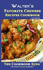 Walter's Favorite Chinese Recipes Cookbook af The Cookbook King
