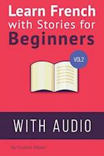 Learn French with Stories for Beginners Volume 2 af Frederic Bibard