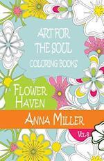 Art for the Soul Coloring Book af M. J. Silva, Anna Miller