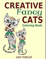 Creative Fancy Cats Coloring Book af Creative Cats, Gina Trowler