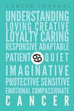 Cancer Journal af Zodiac Gift Notebooks