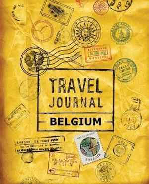 Bog, paperback Travel Journal Belgium