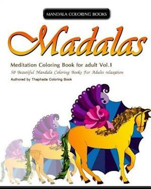 Mandala Coloring Book af Thaphada Coloring Book