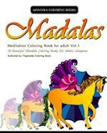 Mandala Coloring Book af Thaphada Coloring Book