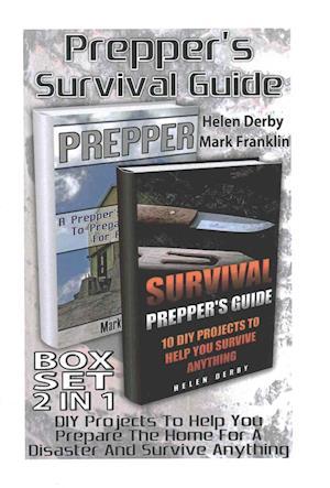 Bog, paperback Prepper's Survival Guide 2 in 1 Set af Mark Franklin
