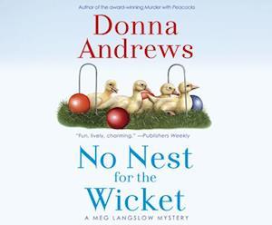 Lydbog, CD No Nest for the Wicket af Donna Andrews