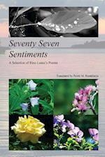 Seventy Seven Sentiments
