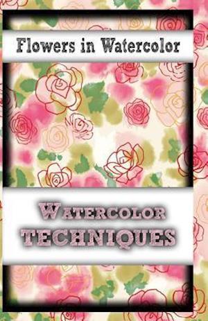 Bog, paperback Flowers in Watercolor af Gala Publication