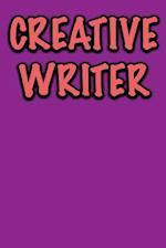 Creative Writer Journal af Active Creative Journals