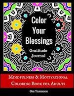 Color Your Blessings - Gratitude Journal af Om Yasmeen