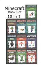 Minecraft Book Set af Billy Miner