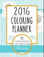 2016 Coloring Planner af Marci Aurila