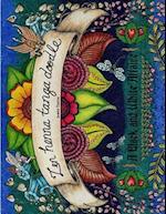 Zen Henna Tanga Doodle af Jamie Taylor