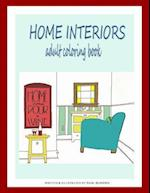 Home Interiors Adult Coloring Book