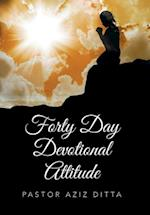 Forty Day Devotional Attitude af Pastor Aziz Ditta