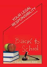 Your Legal Responsibility af Ed D. Louis Robison
