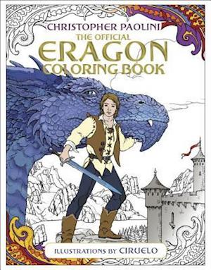 Bog, paperback The Official Eragon Coloring Book af Christopher Paolini