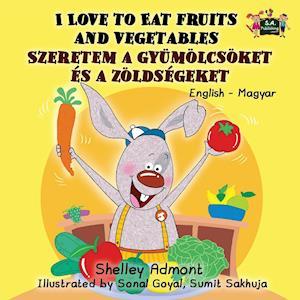 Bog, paperback I Love to Eat Fruits and Vegetables af S. a. Publishing, Shelley Admont