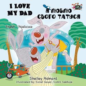 Bog, paperback I Love My Dad af Shelley Admont, S. a. Publishing
