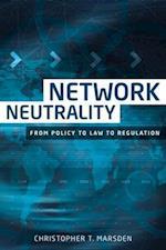Network Neutrality af Christopher T. Marsden