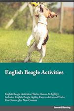 English Beagle Activities English Beagle Activities (Tricks, Games & Agility) Includes