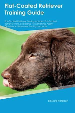 Bog, paperback Flat-Coated Retriever Training Guide Flat-Coated Retriever Training Includes af Edward Paterson