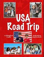 U.S.A. Road Trip Coloring Book af Mary Lou Brown, Sandy Mahony
