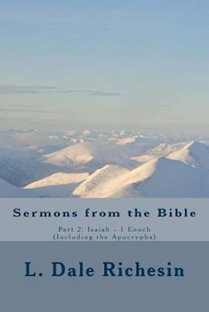 Bog, paperback Sermons of the Bible, Vol. 2 af L. Dale Richesin