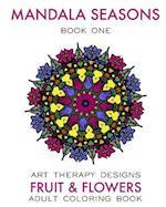 Mandala Seasons af Maya Necalli, Art Therapy Designs